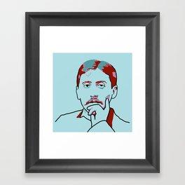 Marcel Proust Framed Art Print