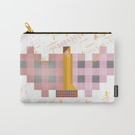 Klimt's Squared Kiss. Gold rain. Carry-All Pouch