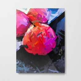 Pink and Red Pomegranates 1 Metal Print
