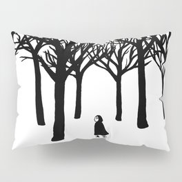 A Tangle of Trees Pillow Sham