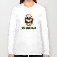 the walking dead Long Sleeve T-shirts featuring Walking Dead by ezmaya