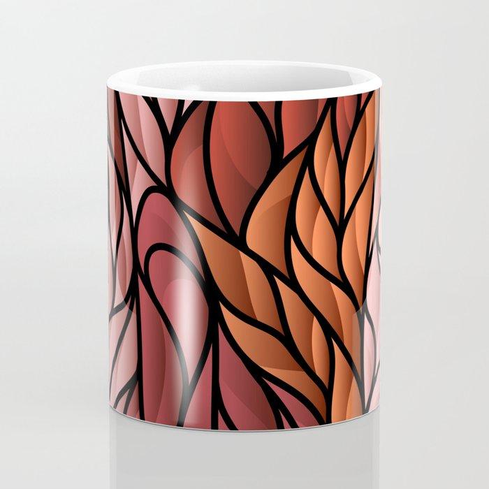 Society6 Foxy Orange Background Coffee Mug