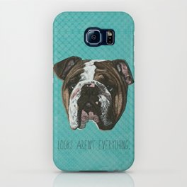 English Bulldog Print iPhone Case