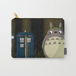Allons-y Totoro alternate Carry-All Pouch