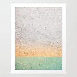 Soothing Gradient Art Print