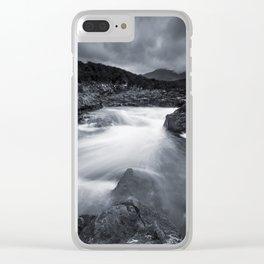 River Rapids Clear iPhone Case