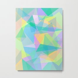 Geometric 3.0 Metal Print