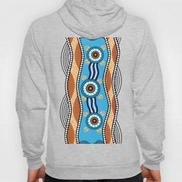 Authentic Aboriginal Art -  Hoody