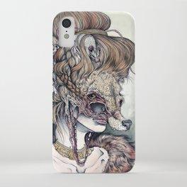 Vulpes Masquerade, now as a print! iPhone Case
