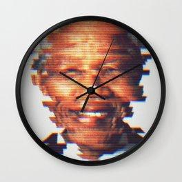 Nelson Mandela Wall Clock