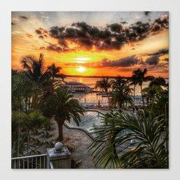 Sanibel Island Sunset Canvas Print