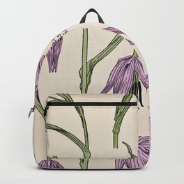 Maurice Verneuil - Fritillaire - botanical poster Backpack