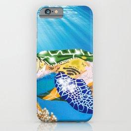 Oceanic Phantom Lurking iPhone Case