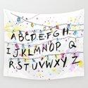 Alphabet Wall Christmas Lights by olgashvartsur