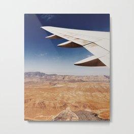 Flight Over Vegas Metal Print