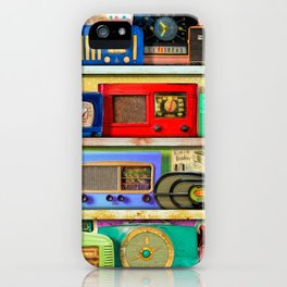 The Golden Age of Radio iPhone Case