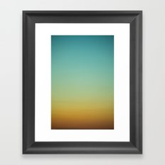 Sky V Framed Art Print