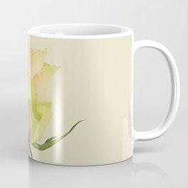 A single pink rose bud Coffee Mug