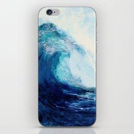 Waves II iPhone Skin