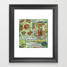 Ina Home Full of Love.... Framed Art Print