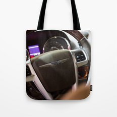 Chrysler Town & Country Limited Steering Wheel and Panel Tote Bag