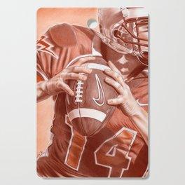 American Football Cutting Board