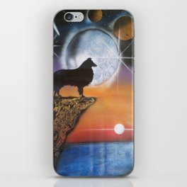 A Collie New Dawn iPhone Skin