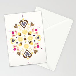 I heart acorns Stationery Cards