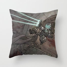 Deadspace Throw Pillow