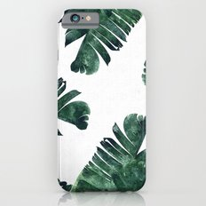 Banana Leaf Watercolor #society6 #buy #decor Slim Case iPhone 6