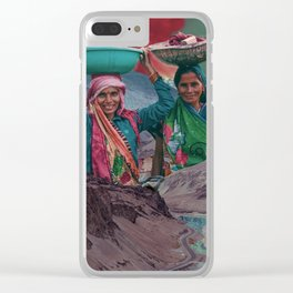 beginnings Clear iPhone Case