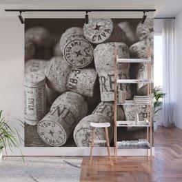 Cork of Champagne - Brown Duplex Wall Mural