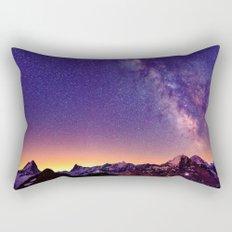 Sunset Mountain #stars Rectangular Pillow