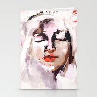 givenchy Stationery Cards featuring Madonna and Baby (GIVENCHY) by Jacobello
