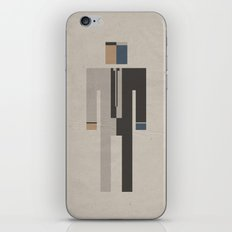 Retro Two Face iPhone & iPod Skin