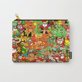 In Christmas melt into the crowd and enjoy it Carry-All Pouch