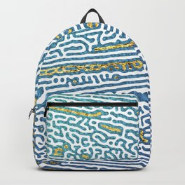 Ocean Waves and Golden Sands Backpack