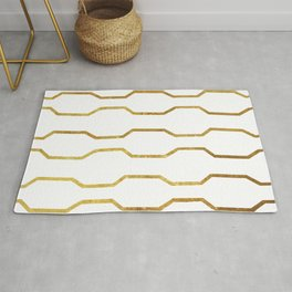 Gold Chain Rug