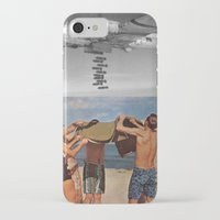 bombs away iPhone & iPod Cases featuring Bombs away by Adrian Jugaru