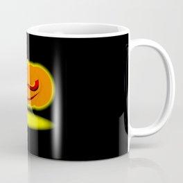 Glowing Halloween Pumpkin Coffee Mug