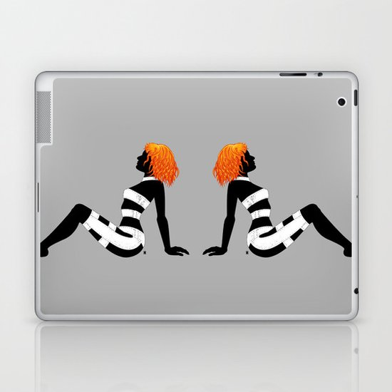 Leeloo Dallas Mudflap Laptop & iPad Skin
