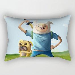 Painting Hora de Aventura Rectangular Pillow