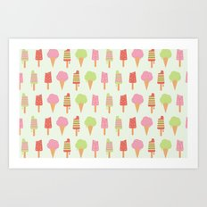 Ice Cream!!!  Art Print