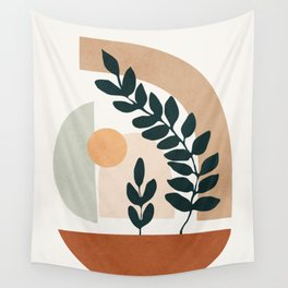 Soft Shapes III Wall Tapestry