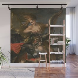 Salvator Rosa (Italian, 1615 - 1673) Allegory of Fortune Wall Mural