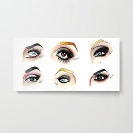 Eye see Drag Metal Print