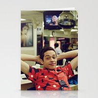 snl Stationery Cards featuring Chill by F*** Me Pete Davidson