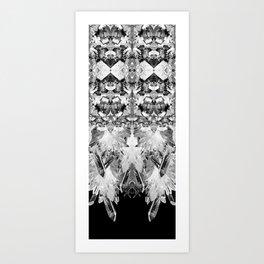 Kryptonite - Black & White Art Print