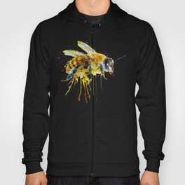 Watercolor Bee Hoody