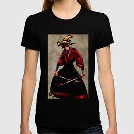 JIBARO SAMURAI-DOS MACHETES,UN DESTINO T-shirt